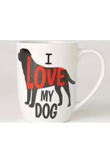 Petrageous I LOVE MY DOG Jumbo 28oz Mug