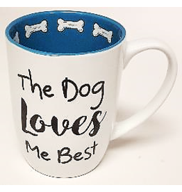 Petrageous The Dog Loves Me Best Mug 24oz