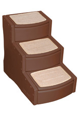 Pet Gear Easy Step 3 - Large - Chocolate