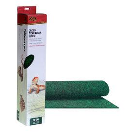 Zilla ZILLA Terrarium Liner - Green - 75 gal