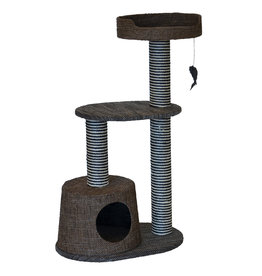 Animal Treasures Cat Tree Scratcher Bi-Level 37.75""