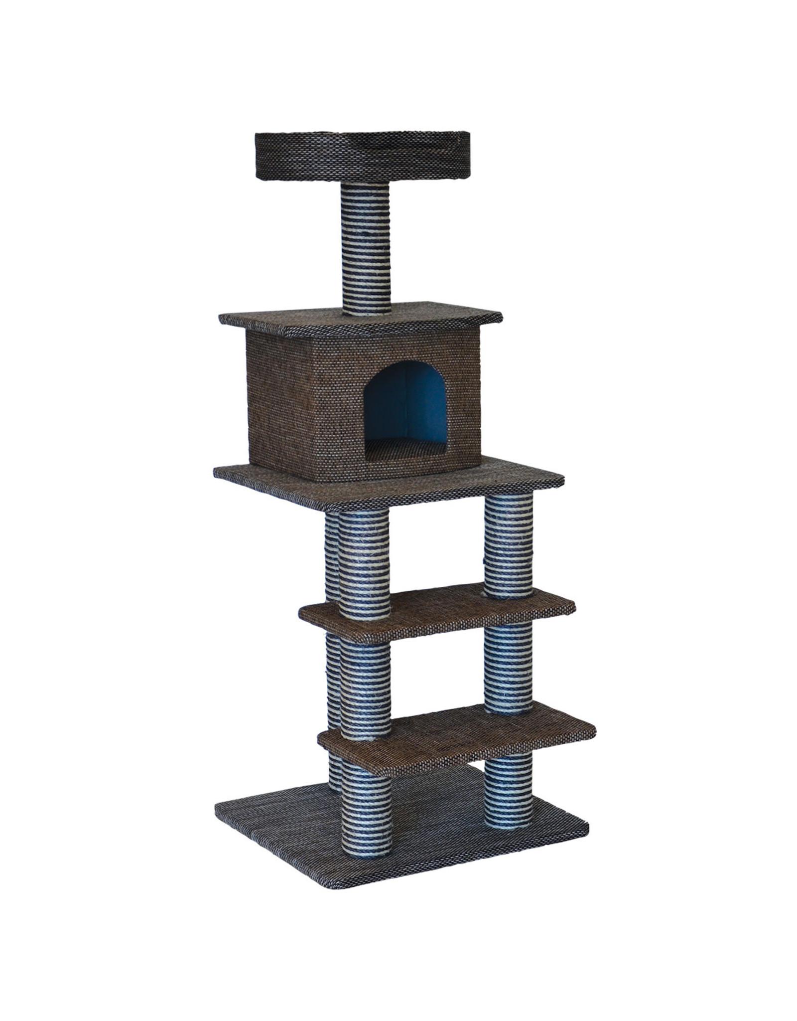 "Animal Treasures Cat Tree Scratcher Multi Level 51"""