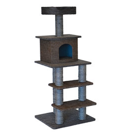 Animal Treasures Cat Tree Scratcher Multi Level 51""