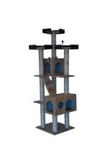 """Animal Treasures Cat Tree Scratcher Tower 72"""""""
