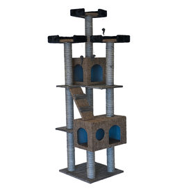 Animal Treasures Cat Tree Scratcher Tower 72""