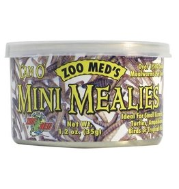 ZOO MED ZOO MED Can O' Mini Mealies - 1.2 oz