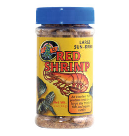 ZOO MED Zoo Med Large Sun-Dried Red Shrimp - 0.5 oz