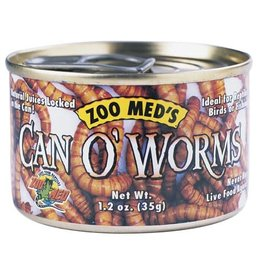 ZOO MED Zoo Med Can O' Worms - 1.2 oz