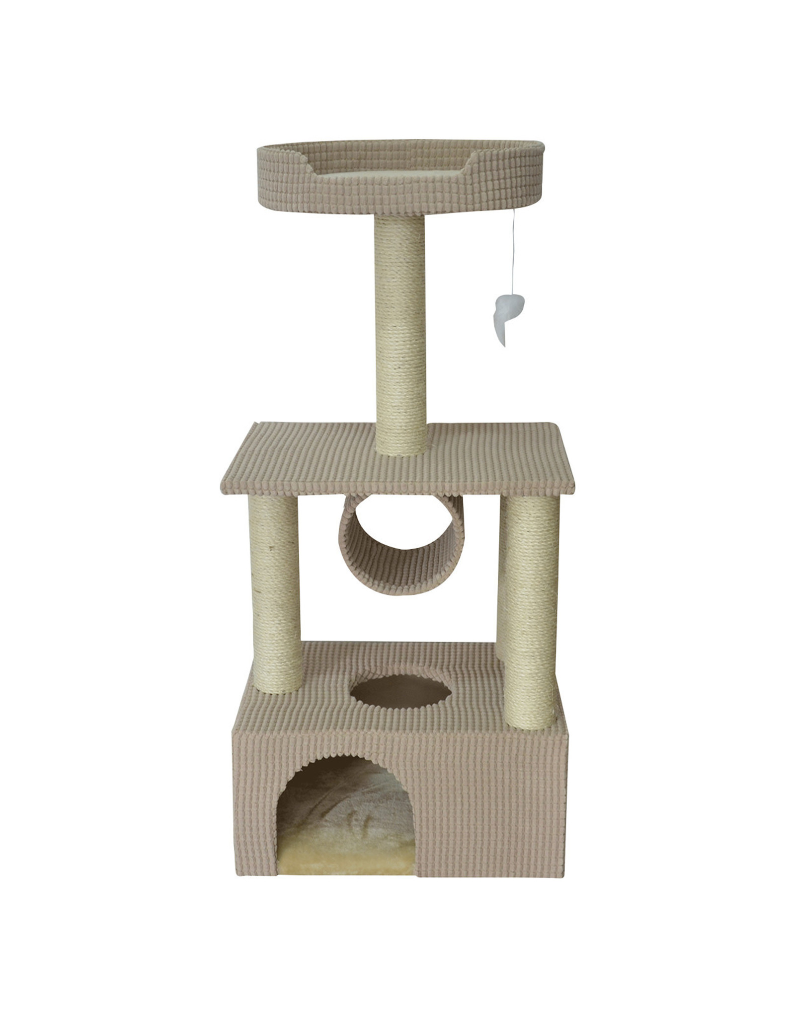 Animal Treasures Cat Tree Scratcher Condo 42""