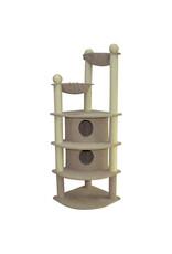"""Animal Treasures Cat Tree Scratcher Skyscraper 66"""""""