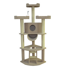 Animal Treasures Cat Tree Scratcher New Yorker 66""