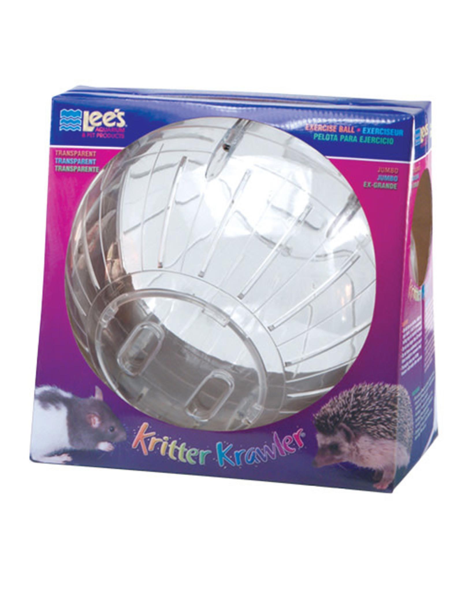 Lee's Kritter Krawler Exercise Ball - Transparent - Jumbo