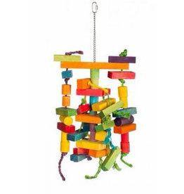 Prevue Hendrix Bodacious Bites Building Maze Bird Toy