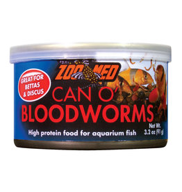 ZOO MED Zoo Med Can O' Bloodworms - 3.2 oz