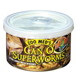 ZOO MED Zoo Med Can O' Superworms - 1.2 oz