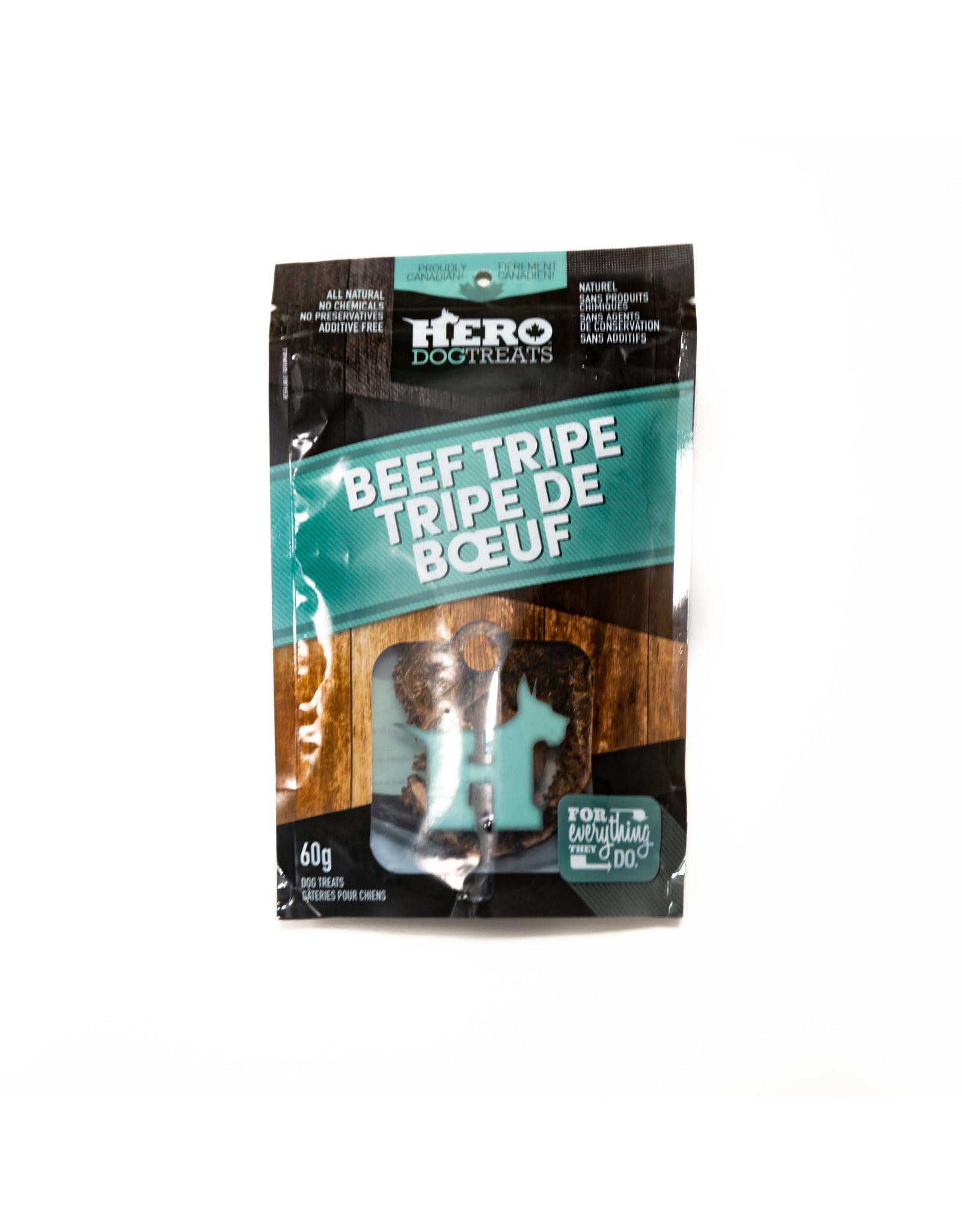 Hero Dehydrated Beef Tripe 60g