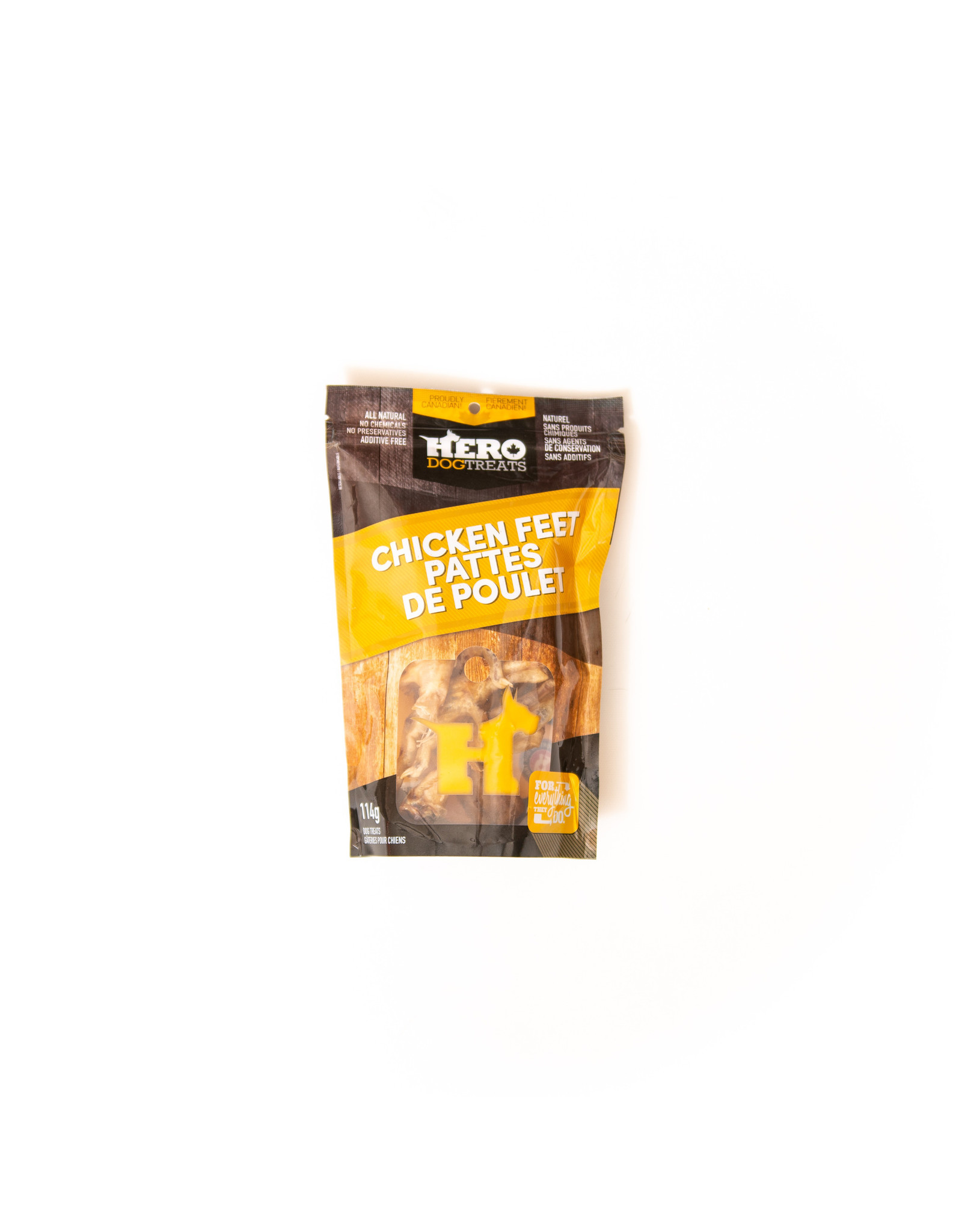 Hero Dehydrated Chicken Feet 114g