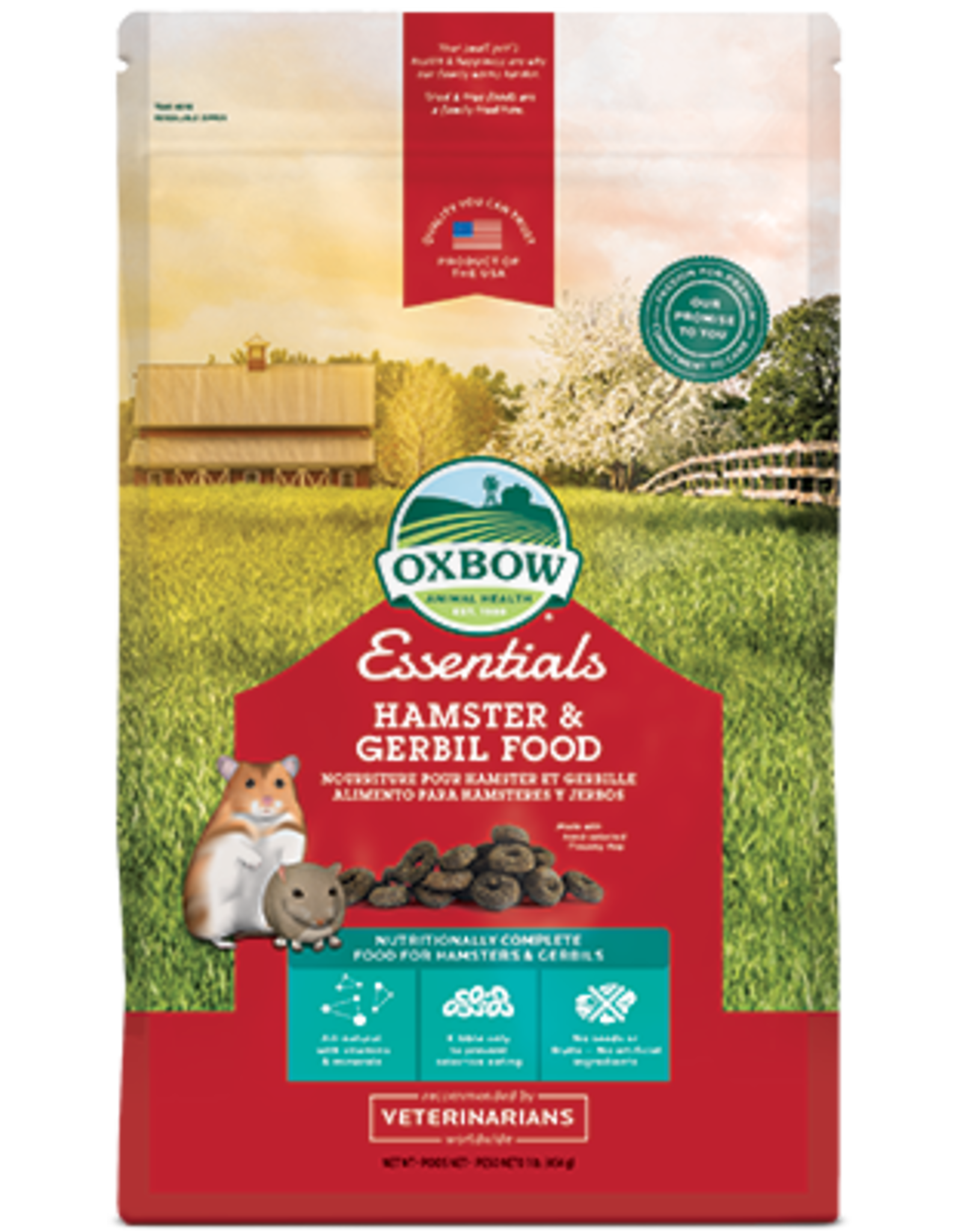 Oxbow Oxbow Essentials Hamster & Gerbil Food 6.8kg