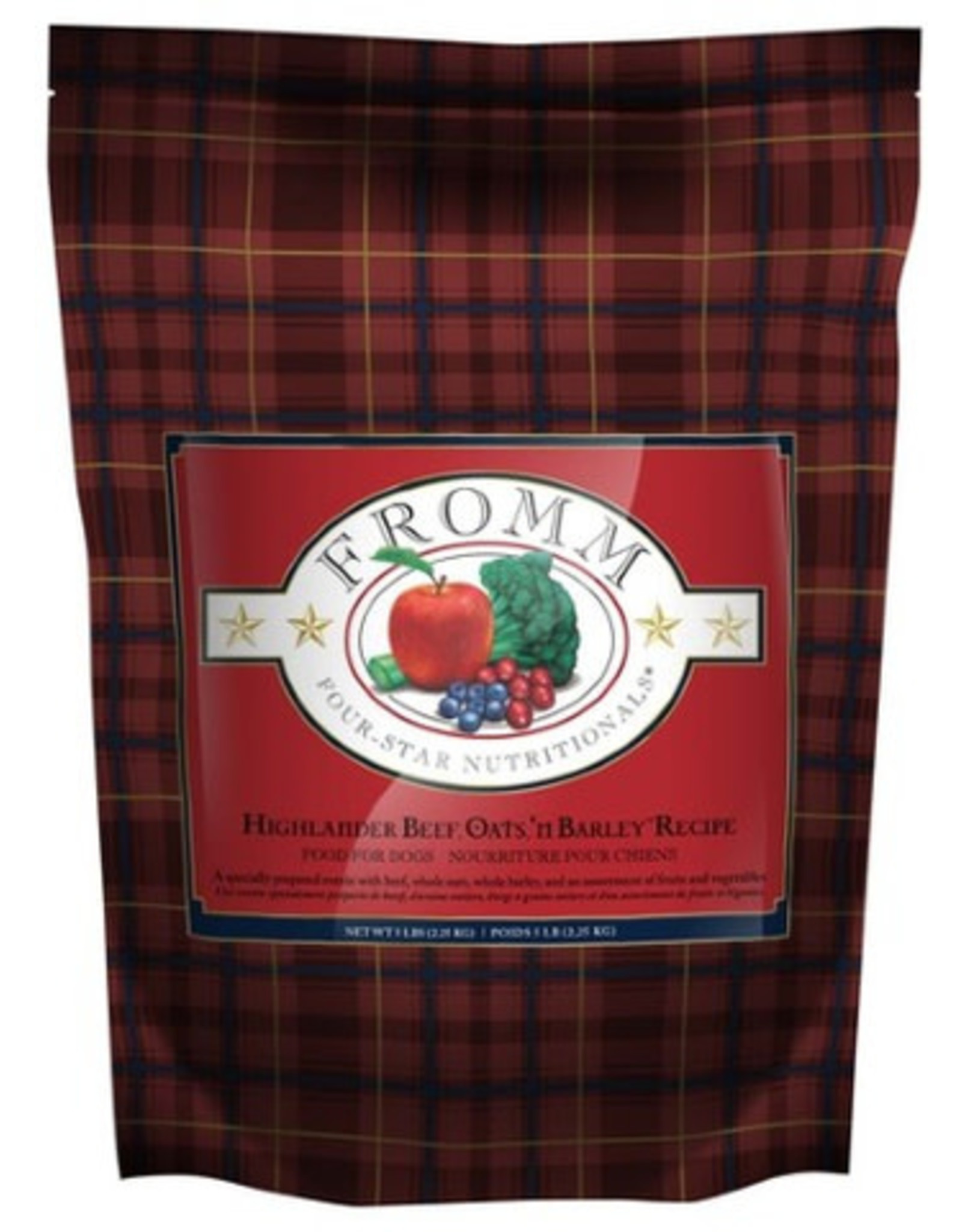 Fromm Fromm Four Star Highlander Beef - 2.25kg