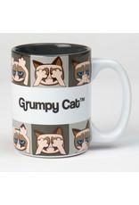 Petrageous Grumpy Cat Mug Grey 24oz