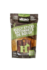 Hero Dehydrated Beef Pizzle 6-inch 12 Pack