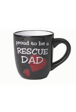 Petrageous Proud to be a Rescue Dad Mug 18oz
