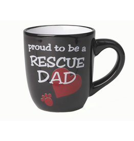Petrageous Proud to be a Rescue Dad Mug 18oz