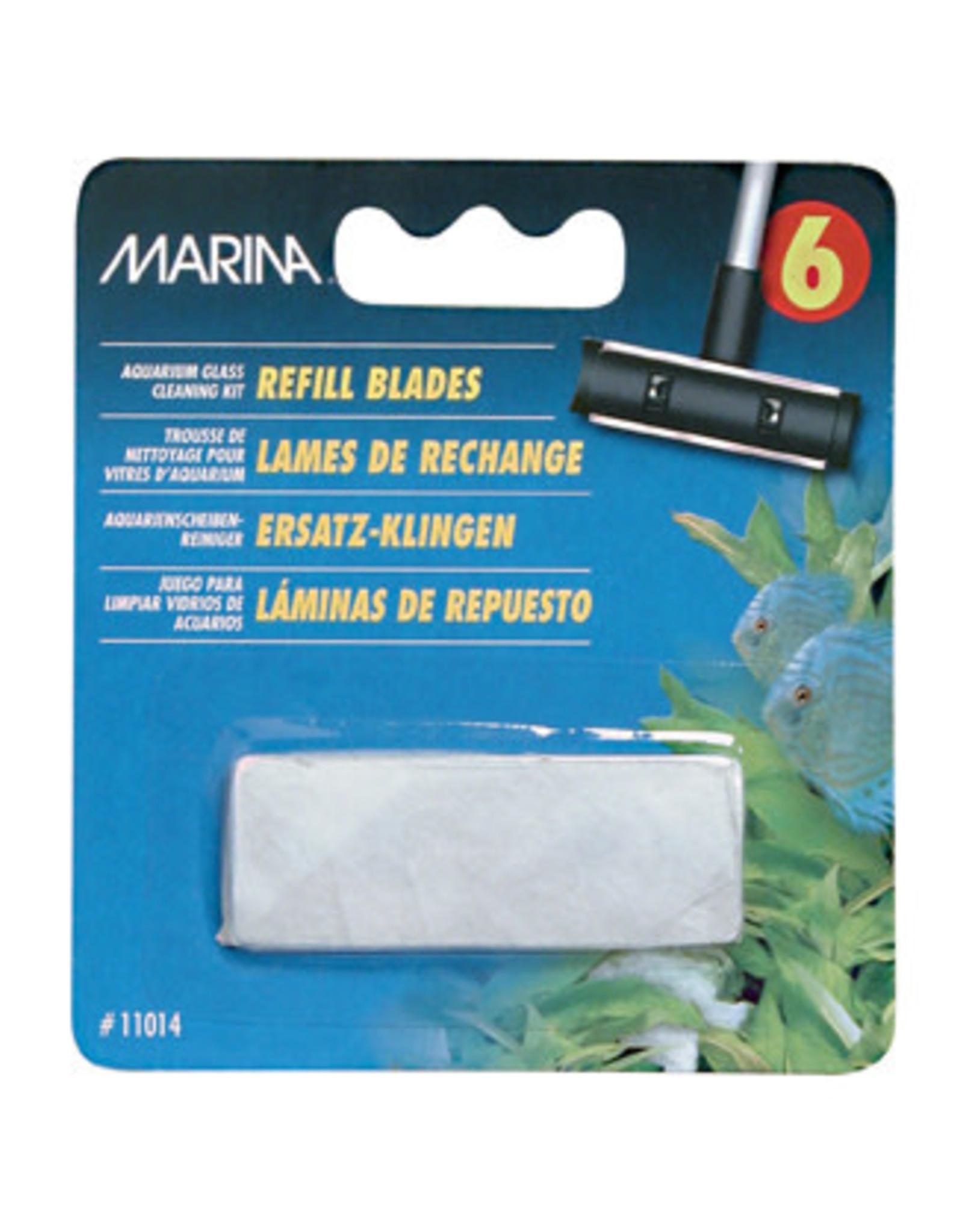 Marina Marina Aquarium Glass Cleaning Refill Blades , 6 Pack