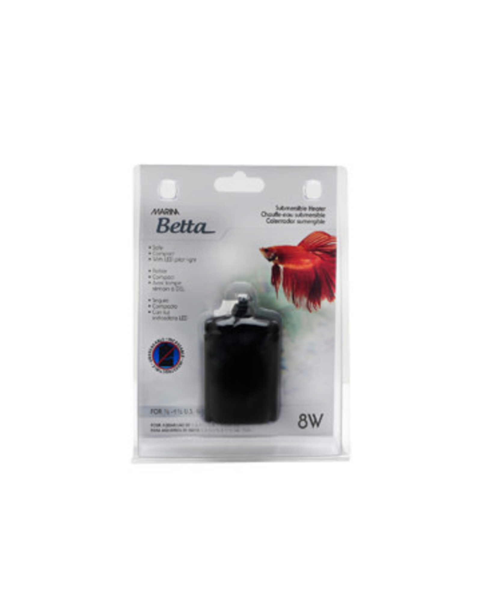 Marina Marina Betta Submersible Heater - 8 W
