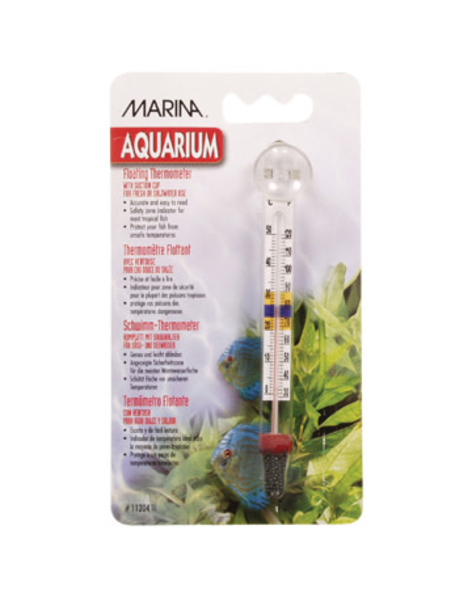 Marina Marina Large Floating Thermometer with suction cup - Centigrade - Fahrenheit