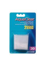 AquaClear Nylon Filter Media Bags for AquaClear 20 - 2 Pack