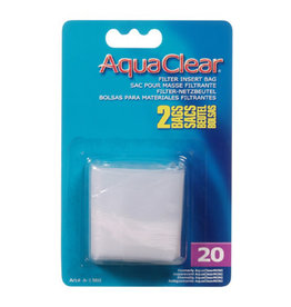 AquaClear Nylon Filter Media Bags for AquaClear 20 - 2 Pack