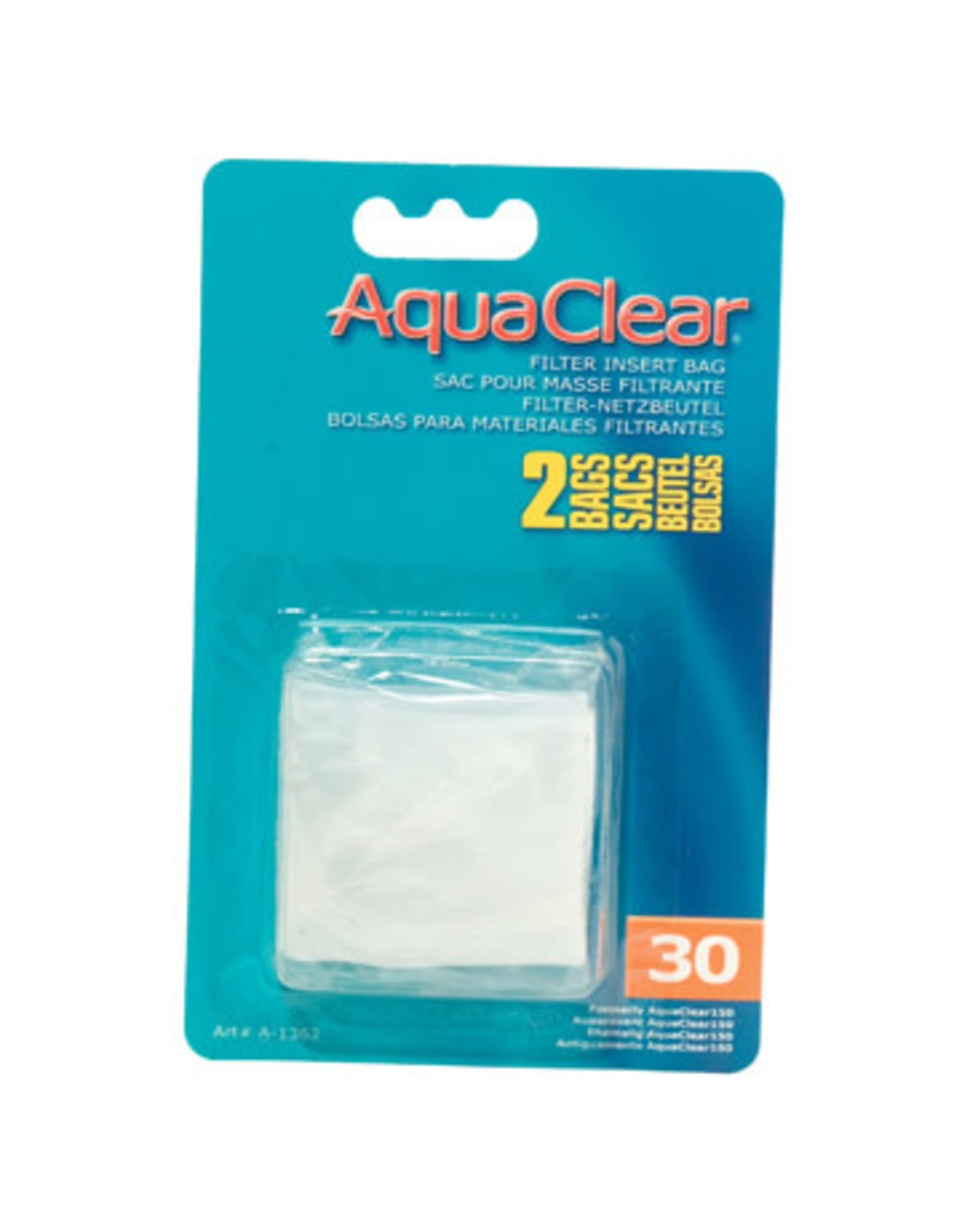 AquaClear Nylon Filter Media Bags for AquaClear 30 - 2 Pack
