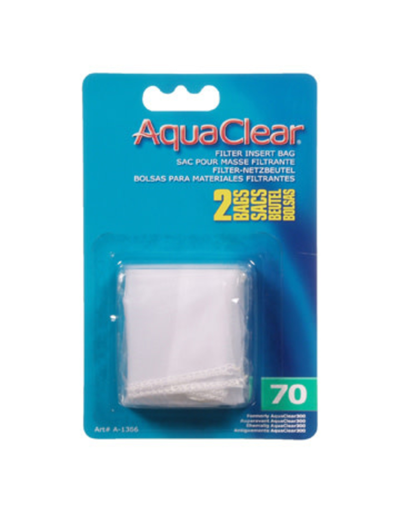 AquaClear Nylon Filter Media Bags for AquaClear 70 - 2 Pack