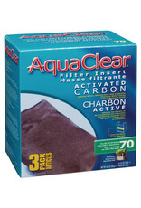 AquaClear AquaClear 70 Activated Carbon Filter Insert 3 Pack 420g