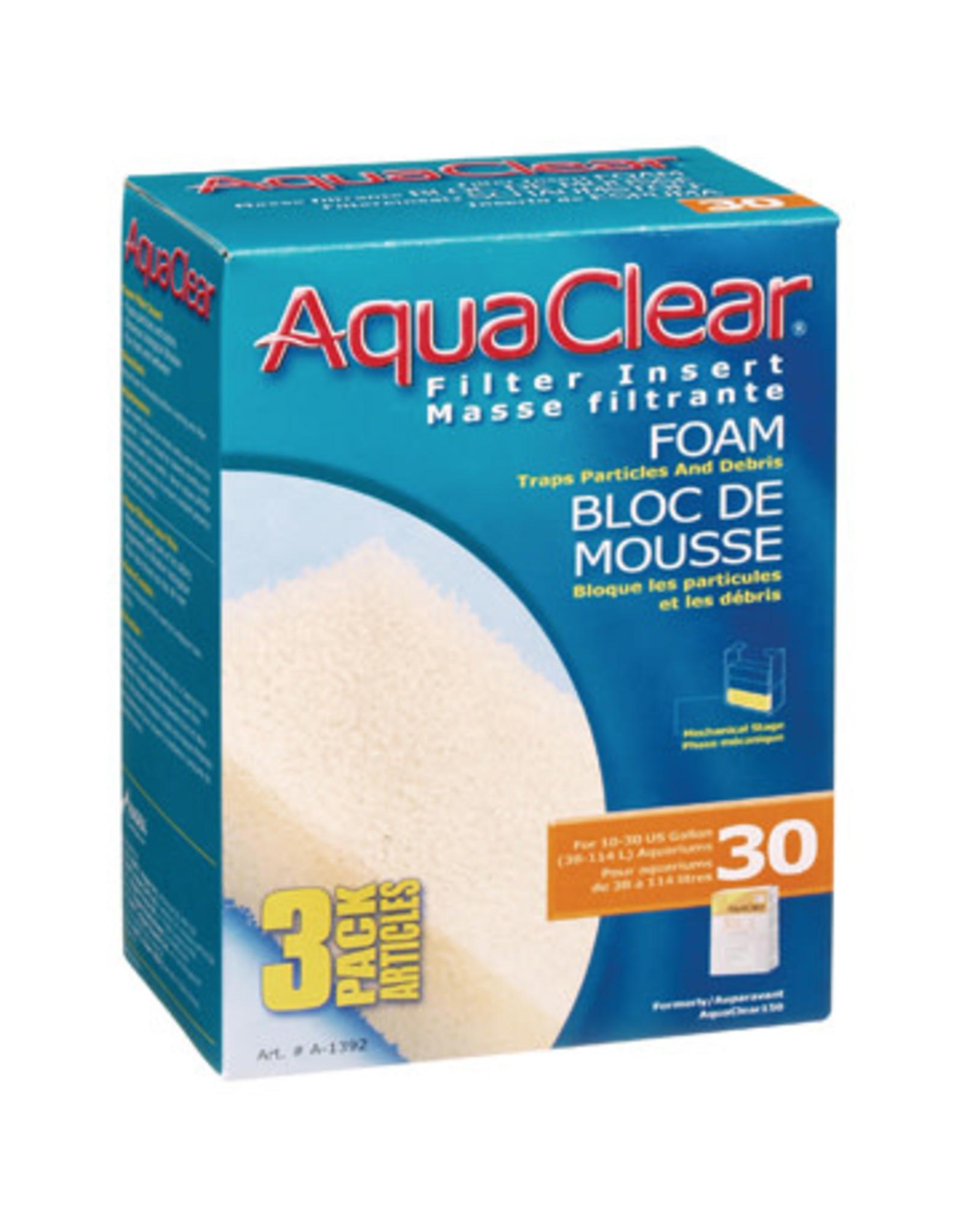 AquaClear AquaClear 30 Foam Filter insert 3 Pack