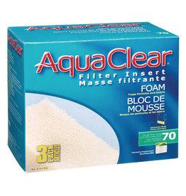 AquaClear AquaClear 70 Foam Filter insert 3 Pack