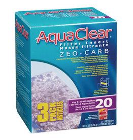 AquaClear AquaClear 20 Zeo-Carb Filter insert 3 Pack 165g