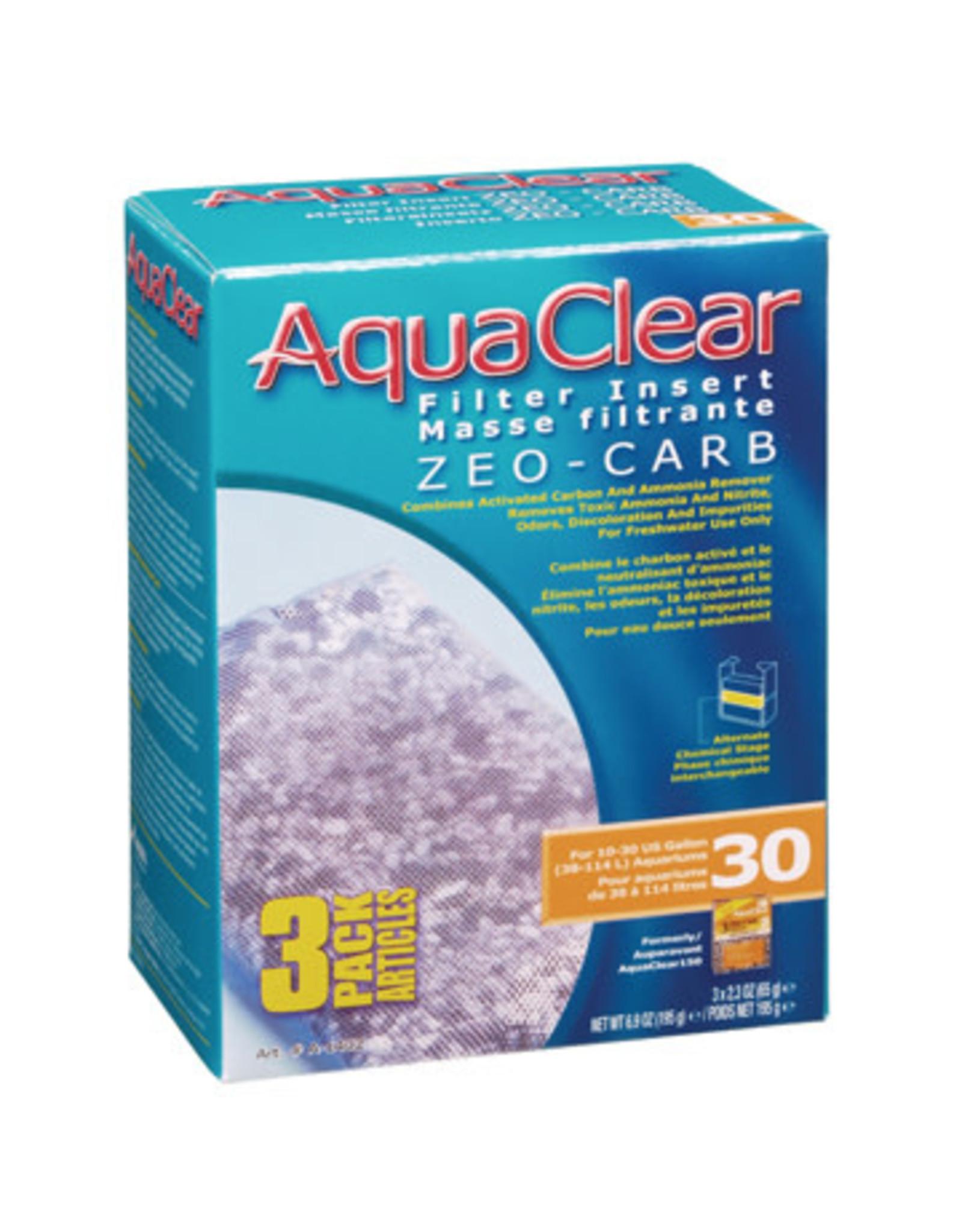 AquaClear AquaClear 30 Zeo-Carb Filter insert 3 Pack 195g