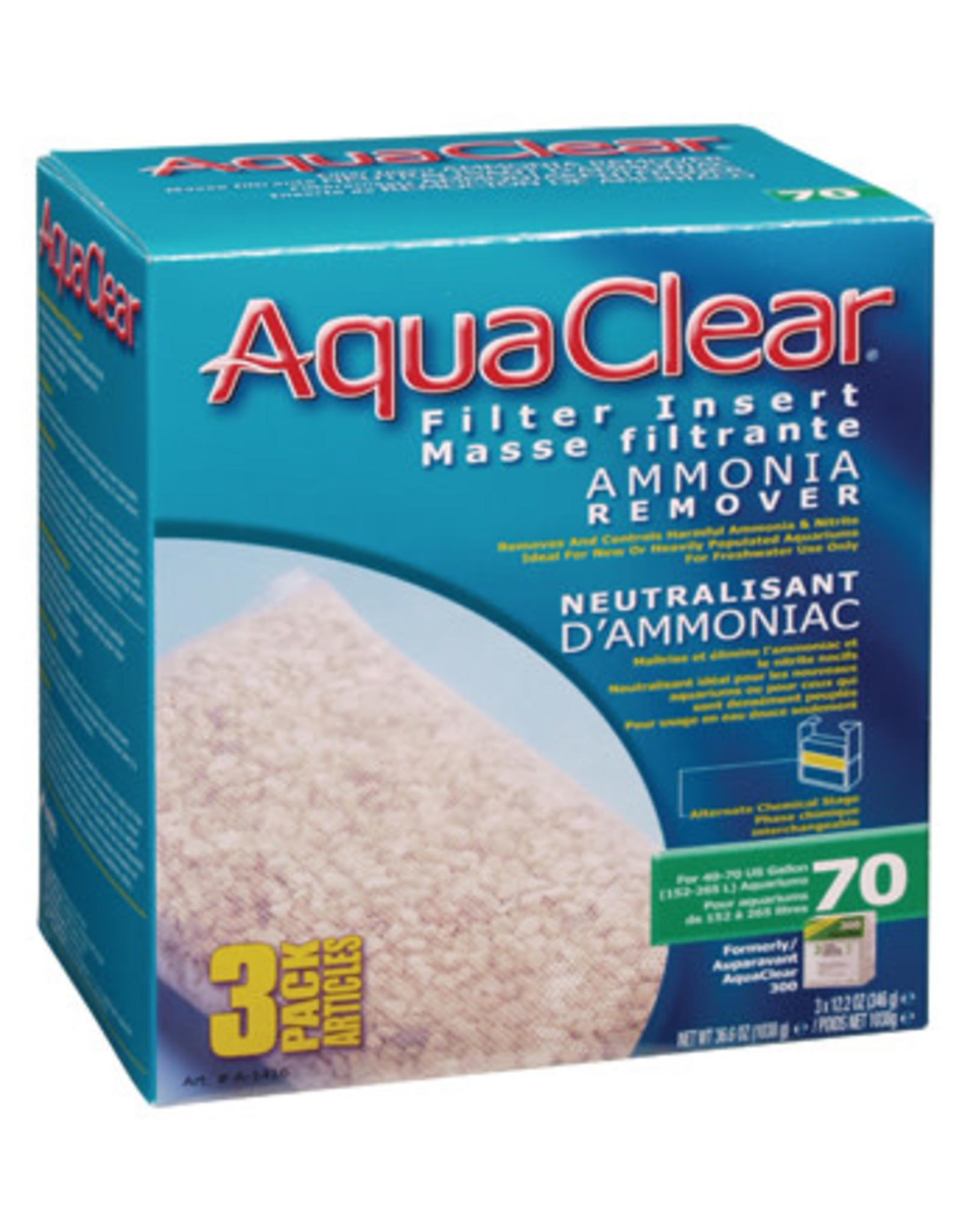 AquaClear AquaClear 70 Ammonia Remover Filter Insert 3 pack 1038g