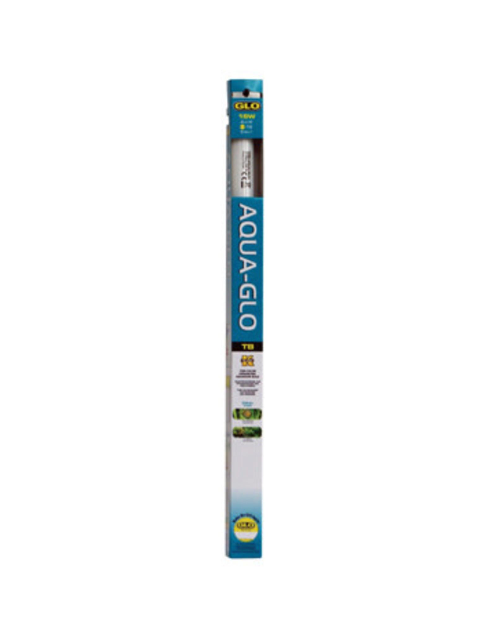 "GLO Aqua-GLO T8 Fluorescent Aquarium Bulb 15w 46cmx2.5cm (18""x1"")"