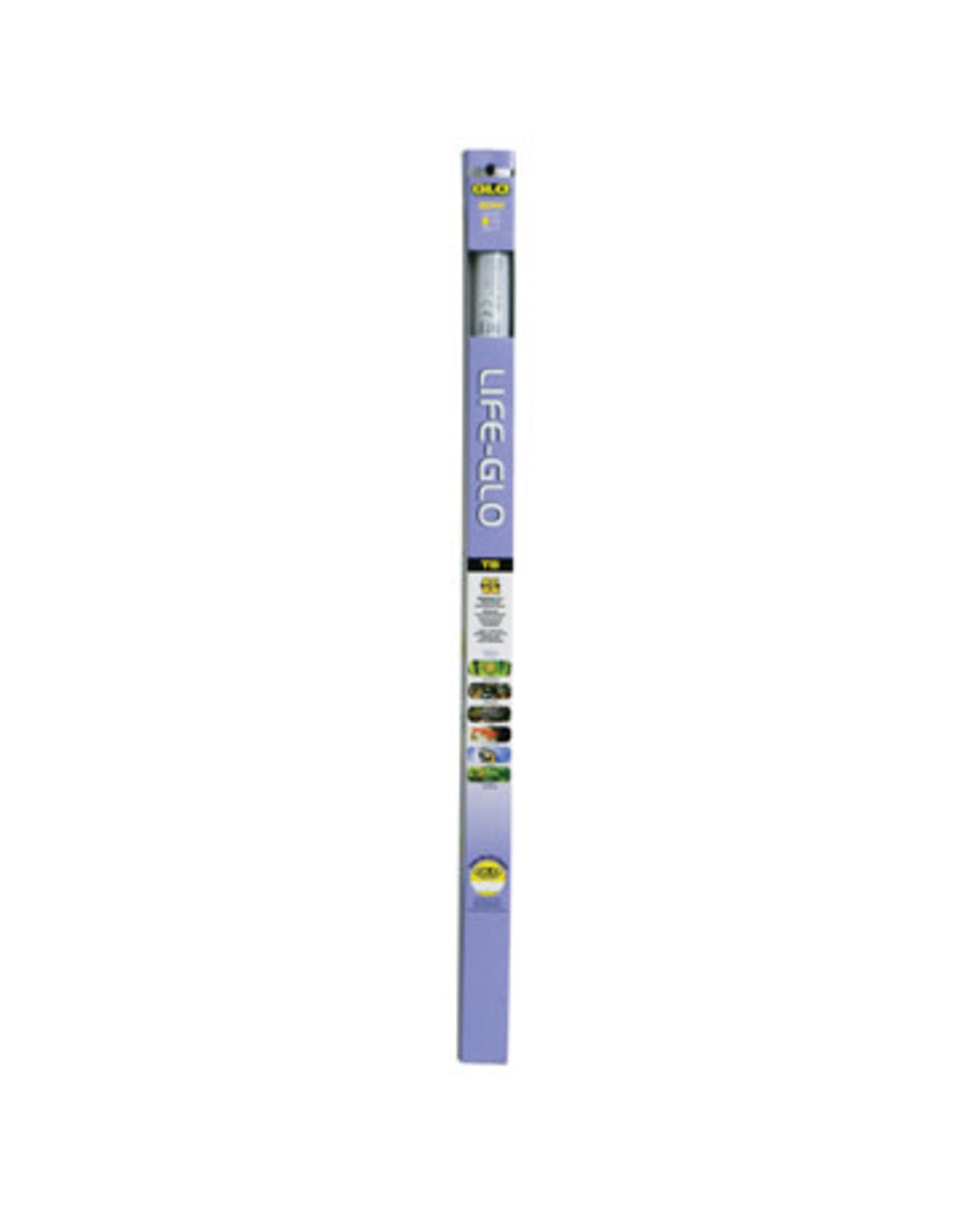 GLO Life-GLO T8 Fluorescent Aquarium Bulb, 20 W, 61 cm x 2.5 cm (24 in x 1 in)