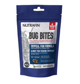 Nutrafin Bug Bites Tropical Formula - Medium to Large Fish - 1.4-2.0mm granules 125 g (4.4oz)