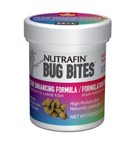 Nutrafin Bug Bites Colour Enhancing Formula Medium to Large Fish 1.4-2.0mm granules - 45g (1.6oz)