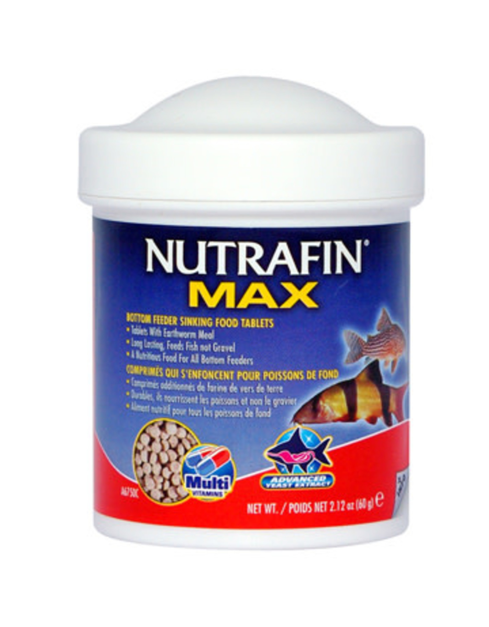 Nutrafin Nutrafin Max Bottom Feeder Sinking Food Tablets, 60 g (2.12 oz)
