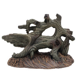 "Marina Marina Grey Driftwood on Sandy Base - Medium - 5 3/4"" x 3 1/8"" x 3 3/4"" (14.6 x 8 x 9.5 cm)"