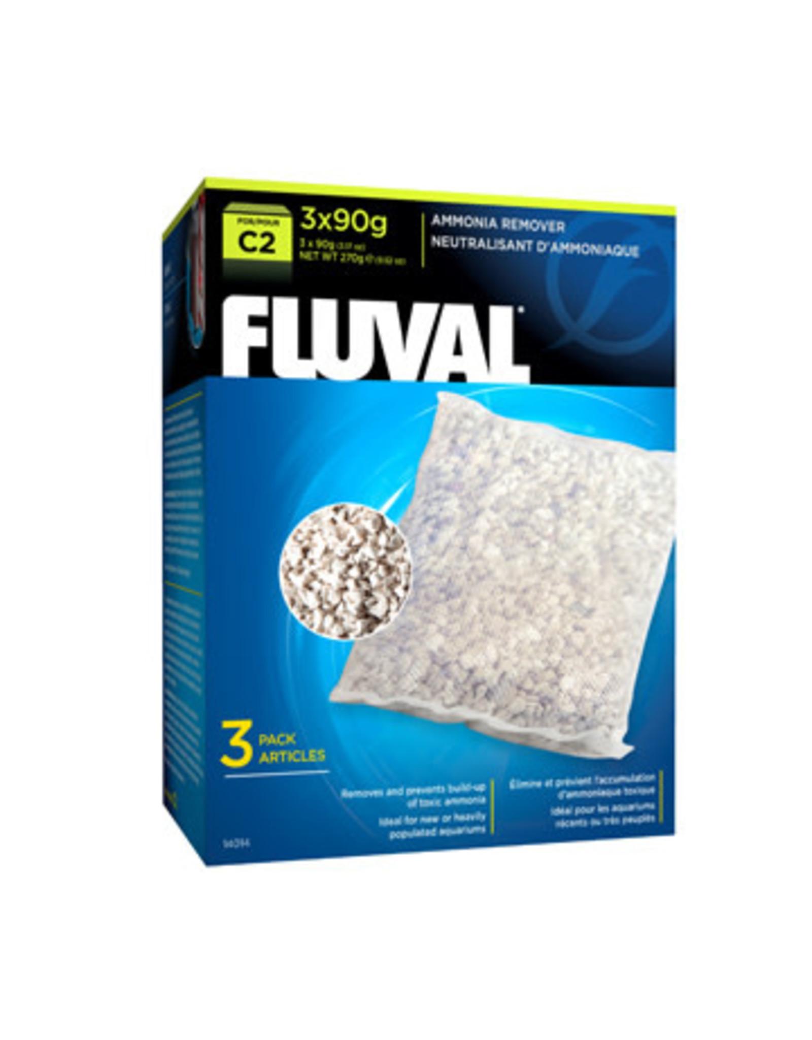 Fluval Fluval C2 Ammonia Remover, 3-pack