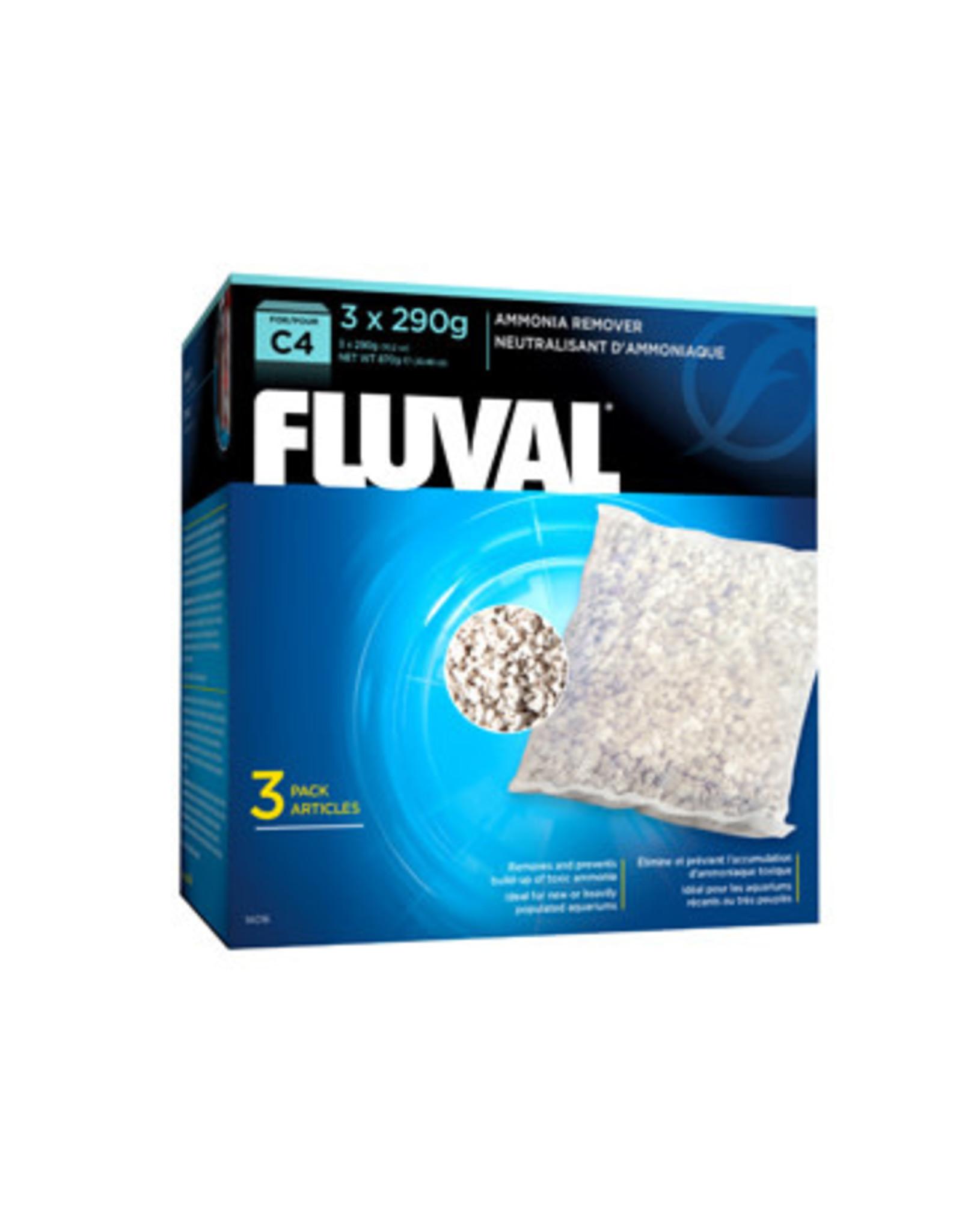 Fluval Fluval C4 Ammonia Remover, 3-pack