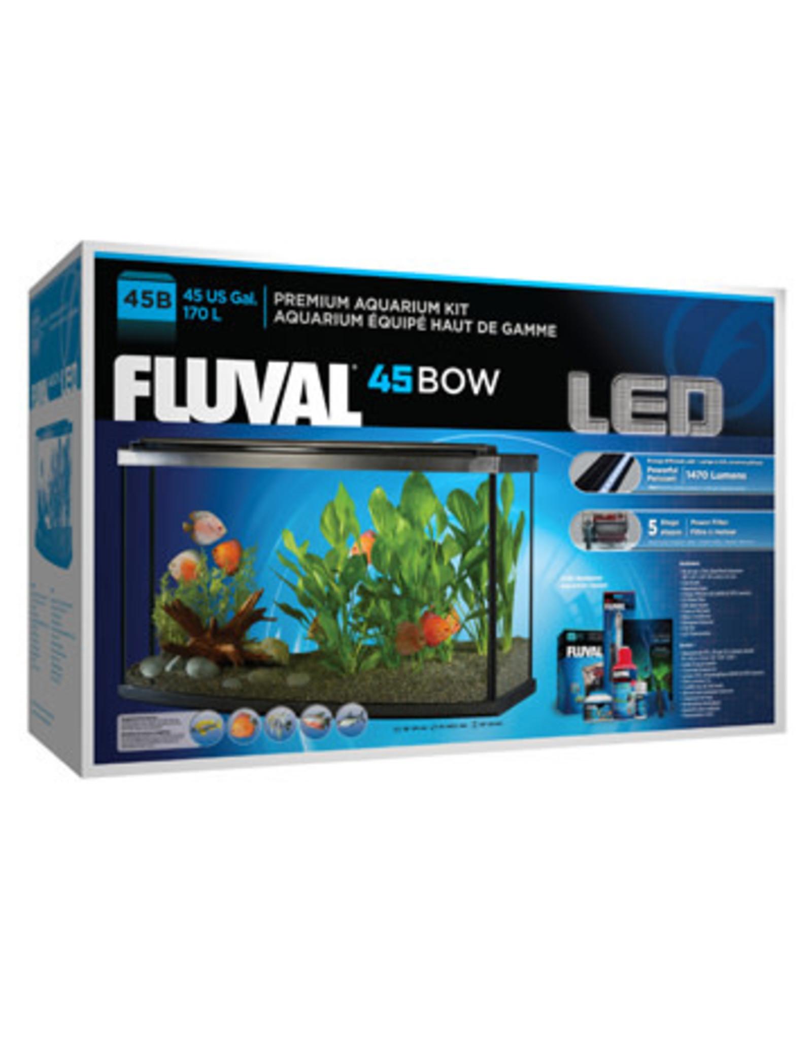 Fluval Fluval Premium Aquarium Kit with LED - 45 Bow - 170 L (45 US Gal)