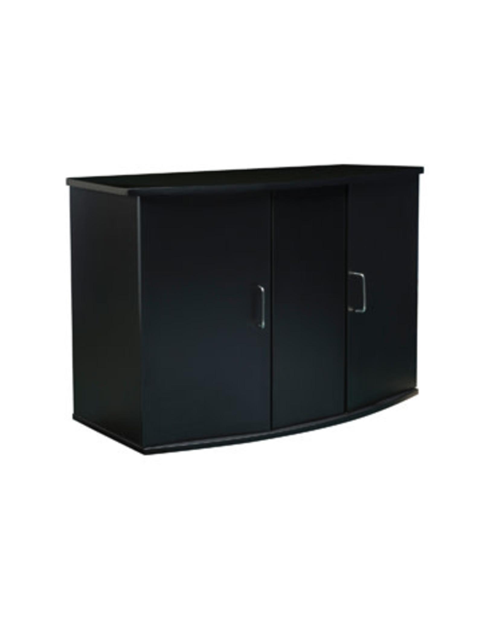 "Fluval Fluval Bow Front Aquarium Cabinet - 45 Bow - 37"" x 16.5"" x 26"" (94 cm x 42 cm x 66 cm) - Black"